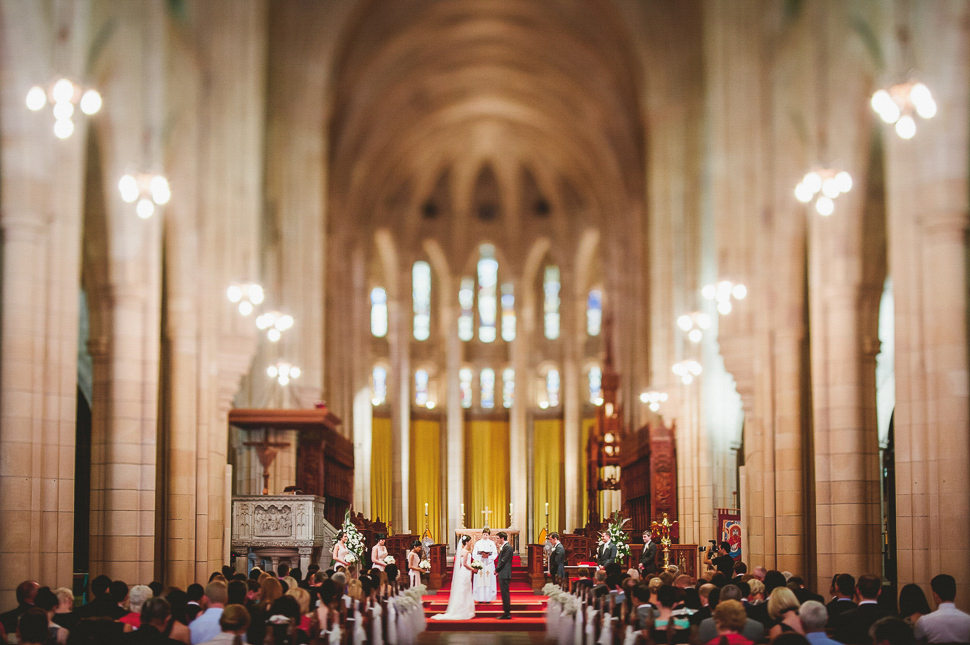 St Johns Cathedral Brisbane Wedding - 4