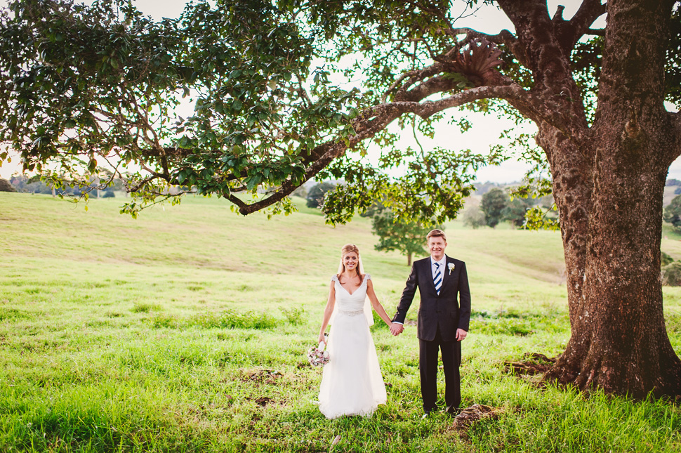 Michelle & Kurt's Maleny Wedding